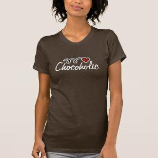 Chocoholic T - Shirt für Schokoladenliebhaber