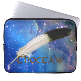 CHOCTAW Nation u. Feder-Raum-Laptop-Hülse Laptopschutzhülle