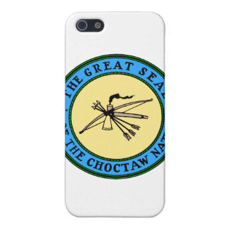 Choctaw-Nations-Siegel iPhone 5 Cover