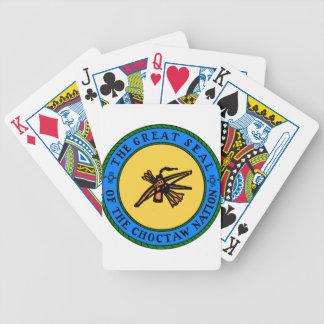 Choctaw-Siegel Bicycle Spielkarten