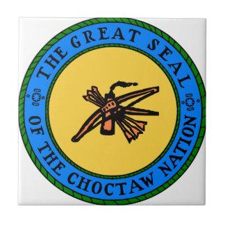 Choctaw-Siegel Fliese