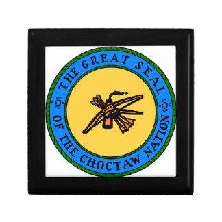 Choctaw-Siegel Geschenkbox