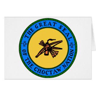 Choctaw-Siegel Karte