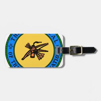 Choctaw-Siegel Kofferanhänger