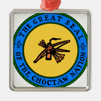 Choctaw-Siegel Silbernes Ornament