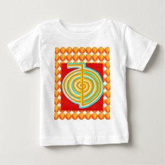 CHOKURAY: CHO KU STRAHL Reiki heilendes Symbol Baby T-shirt