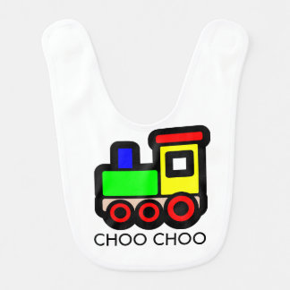 Choo Choo Zug-Baby-Schellfisch Lätzchen