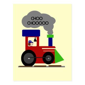 Choo Choo Zug-T-Shirts und Geschenke Postkarte