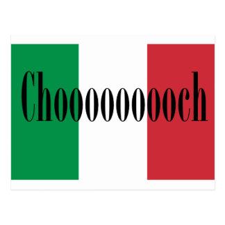 Chooooooch Produkte verfügbar hier! Postkarte