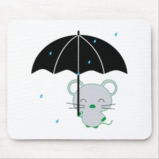 chootan und Regenschirm Mousepad
