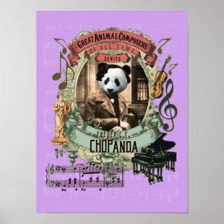 Chopin-Parodie Chopanda lustiger Poster