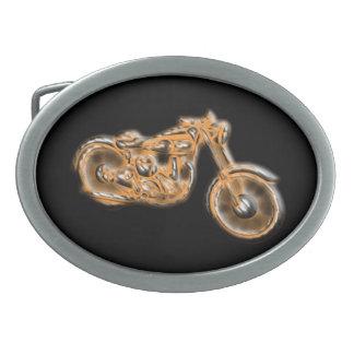 Chopper-Kreuzer Ovale Gürtelschnallen