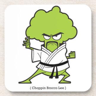 Choppin_Brocco_Lee_Tee Getränkeuntersetzer