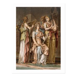 Chor der israelitischen Frauen, Kostüme für Postkarte