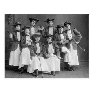 Chor fröhlich galoppieren, frühe 1900s postkarte