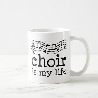Chor ist mein Leben Kaffeetasse