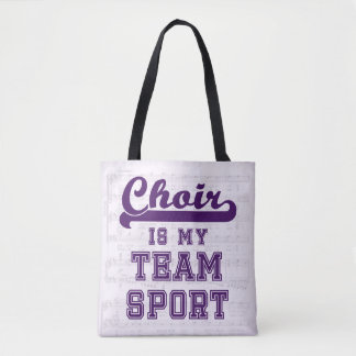 Chor ist mein Mannschaftssport Tasche