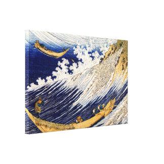 Choshi in der Simosa Provinz durch Hokusai Leinwanddruck