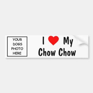 Chow-Chow Autoaufkleber