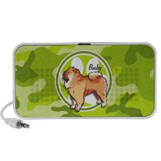 Chow-Chow hellgrüne Camouflage Tarnung Mp3 Speaker