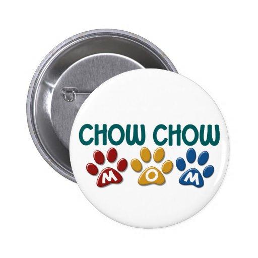 CHOW-CHOW Mamma-Tatzen-Druck 1 Anstecknadel
