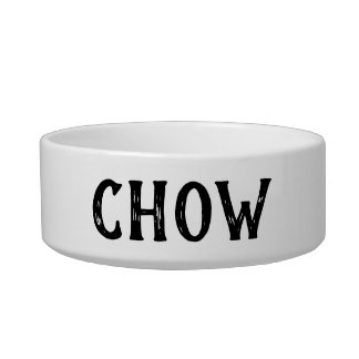 Chow-Chow personalisierte kleine Hundeschüssel Napf