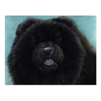 Chow-Chow-ursprüngliche Hundekunst-Postkarte Postkarte