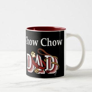 Chow-Chow VATI Geschenke Zweifarbige Tasse