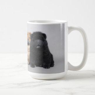 Chow-Chowwelpen Kaffeetasse
