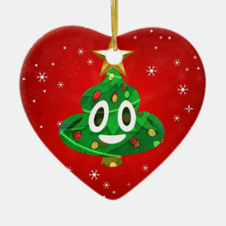 Chris emoji kacken keramik ornament