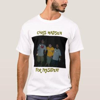 CHRIS MADSEN FÜR PRÄSIDENTEN T-Shirt