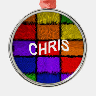 CHRIS SILBERNES ORNAMENT