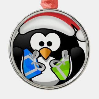 Chrismas Geschenk Silbernes Ornament