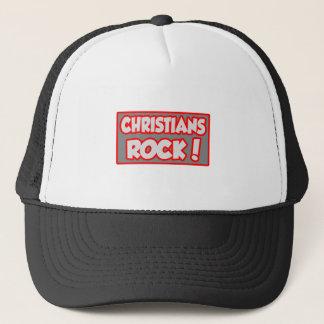 Christ-Felsen! Truckerkappe