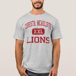 Christa McAuliffe - Löwen - Mitte - Jackson T-Shirt