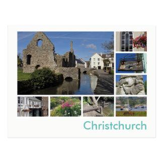 Christchurch Multibild Postkarte