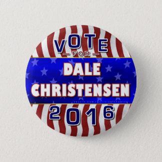 Christensen für Republikaner 2016 Präsidenten-Wahl Runder Button 5,7 Cm
