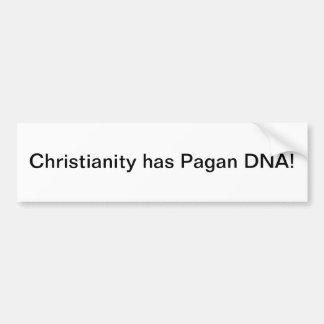 Christentum hat Heiden DNS - bumoer Aufkleber Autoaufkleber