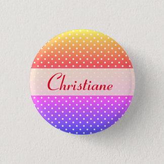 Christiane  Namensschild Anstecker Runder Button 2,5 Cm