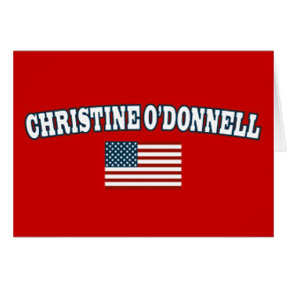 Christine O'Donnell für Amerika Karte