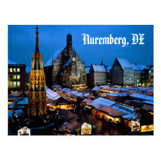Christkindl_Market, _Nuremberg, _Bavaria, Postkarte