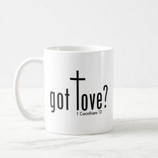 """Christlich """"erhielt Liebe?"""" Tasse Kaffeetasse"""