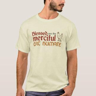 """Christlich """"essen Sie das menschliche"""" Shirt"""