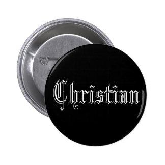 Christlich Runder Button 5,7 Cm