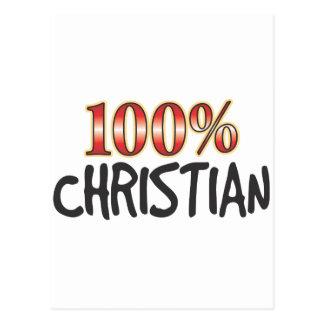 Christliche 100 Prozent Postkarten