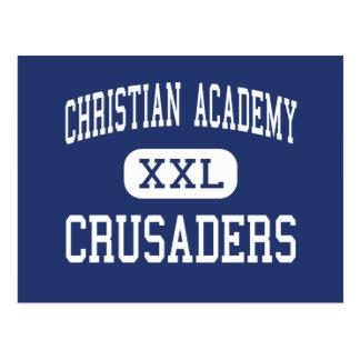 Christliche Akademie - Kreuzfahrer - hoch - Medien Postkarte