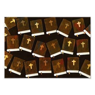 Christliche Bibel Fotodruck