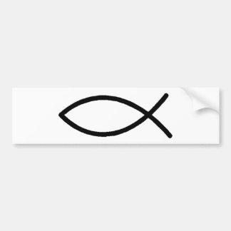Christliche Fische Autoaufkleber