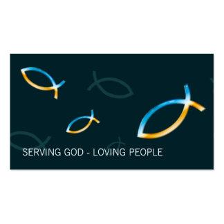 Christliche Fische Visitenkarten