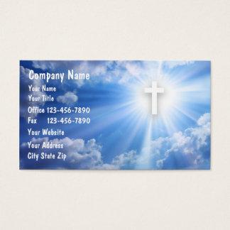 Christliche Geschäfts-Karten Visitenkarten